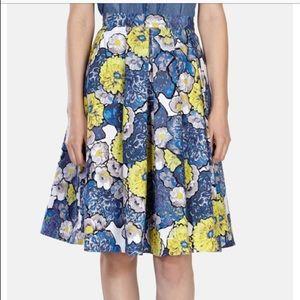 Karen Millen midi full skirt size 8